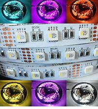 4 in 1 LED Stripe 12V DC RGBW Kaltweiss 5050 60 LED 5 Mtr Streifen