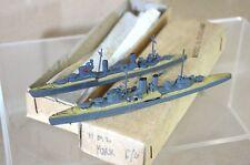 TREMO TM HMS EXETER & ARETHUSA 1:1200 WWII CRUISER & LIGHT CRUISER MODEL SHIP m