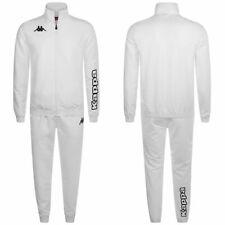 KAPPA ANTON Tuta calcio BAMBINO 4SOCCER Zip Intera giacca+pantalone Bianco 906le