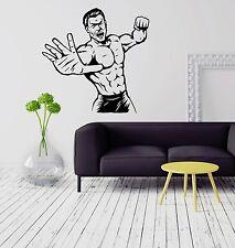 Wall Stickers Martial Arts Fighter Sport Man MMA Boys Room Vinyl Decal (ig2060)