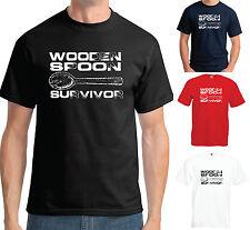 Holzlöffel Survivor T Shirt Lustig Humor Scherz College Cool Student Slogan