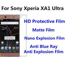 3pcs For Sony Xperia XA1 Ultra Nano Explosion/Anti Blue Ray Screen Protector