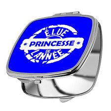 MIROIR DE POCHE - ELUE PRINCESSE DE L'ANNEE - 10 COULEURS DISPO