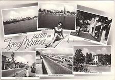 IGEA MARINA- BELLEZZE AL BAGNO E 6 VEDUTE  1956