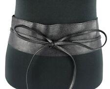 Gürtel Breiter Damengürtel Hüftgürtel Leder-Look Taillengürtel schnürverschluss