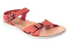 Ladies Sandal ~ Fantasy ~ Women's RHODES ~ RED ~ Twin Buckle Casual Sandal
