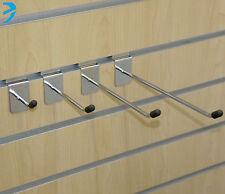 "Slatwall Hook Pin Shop Display Fitting Prong Slim Design Eco 2"" 4"" 6"" 8"" 10"" 12"""