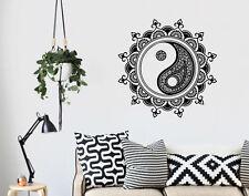 YIN Yang Mandala Rimovibile Adesivo Decalcomania Parete in Vinile Interior Design