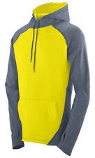 Augusta Sportswear Men's Moisture Wicking Drawcord Zeal Pullover Hoodie. 4762