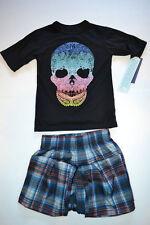 Cherokee 2 PCS Sleep Set Skull & Plaid  Various Sizes  NWT NEW
