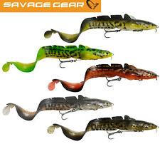 Savage Gear 3D Real Eel Albino 15-40cm 12-147g Loose Body Gummiaal Hecht Wels