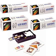 Matin SLIDE MOUNTS Carousels Film Frame Cutter Archival Sheets FileBox Universal