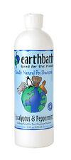 Earthbath Dog Shampoo EUCALYPTUS PEPPERMINT 16 Oz.