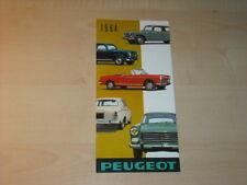 27828) Peugeot 404 403 D4B Prospekt 1964