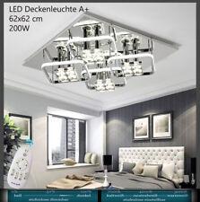 D809 LED Deckenleuchte Lichtfarbe und Helligkeit einstellbar Kristall Sparsam A+