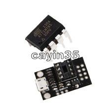 Mini ATTINY85 Micro USB Development Programmer Board for Tiny85-20PU DIP-8 IC