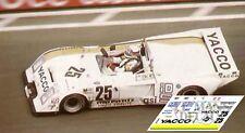 Calcas Chevron B36 Le Mans 1980 25 1:32 1:24 1:43 1:18 slot decals