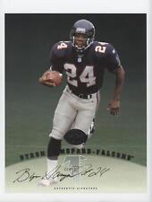 1997 Leaf Signature Authentic #BYHA Byron Hanspard Atlanta Falcons Auto Card