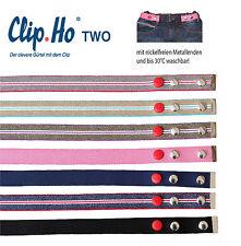 Clip.Ho two Clip ho Clipho Kindergürtel Gürtel ohne Schnalle Mädchen Jungen NEU