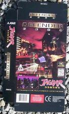 Defender 2000 Display Box Atari Jaguar New NOS