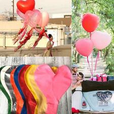 Ballon géant Coeurs  latex saint valentin décoration mariage  soirée 90cm.