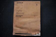 CAT Caterpillar 3412 Engine Parts Manual Book Catalog spare list OEM 1991 shop