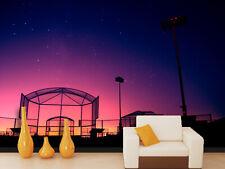 3D Nuit Rose 987 Photo Papier Peint en Autocollant Murale Plafond Chambre Art