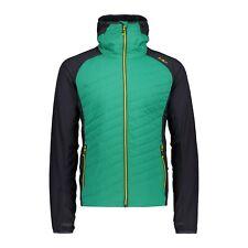 CMP Giacca Funzionale Man Jacket Fix Hood Verde Antivento Idrorepellente