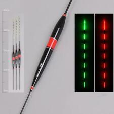 Fishing Float LED Fischen Bobber Nachtlicht Biss Haken Leuchtend Leuchtend F9X0