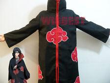 Naruto Akatsuki Cosplay Costume Itachi Cloak Deidara Pain Hidan Cape Uniform