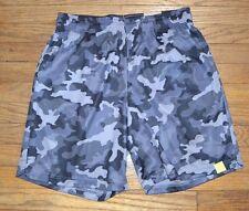 Tek Gear Performance Basketball Short Wicking CoolTek Fabric Gray Camo Shorts