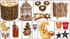 Portacandelitas Decorativos Velas Invierno Decoración de la Sala de té Luces Hermoso