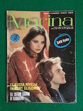 Fotoromanzo MARINA 1980 n.224 , BARBARA DE ROSSI CLAUDIA RIVELLI ROBERT GLIGOROV