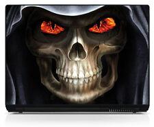 Sticker pc portable autocollant Skull réf 107