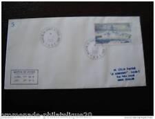 TAAF lettre 1/1/2001 - timbre Yvert et Tellier n°289