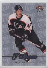 2007 Fleer Ultra Ice Medallion #53 Joni Pitkanen Philadelphia Flyers Hockey Card