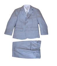 Cinda Blue Beige 5 Piece Boy Suits Boys Wedding Suit Page Boy Prom 2-12 Years