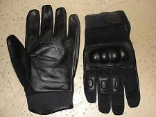 paire de gants coqués en cuir/ tissus taille XXXL (12)