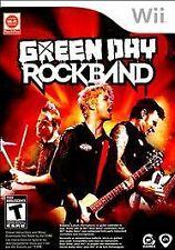 Green Day: Rock Band (Nintendo Wii, 2010) -FREE SHIPPING