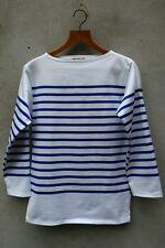 Pablo Picasso Breton Shirt (White & Blue) by Saint James - Naval ii -100% Cotton