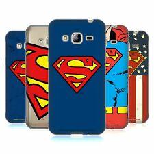 OFFICIAL SUPERMAN DC COMICS LOGOS SOFT GEL CASE FOR SAMSUNG PHONES 3