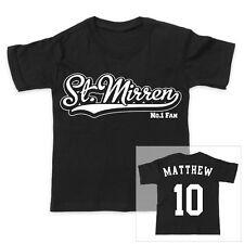ST MIRREN football personnalisé pour garçons / T-shirt fille