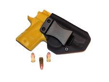 Aggressive Concealment KM9IWBLP IWB Kydex Holster Kimber Micro 9