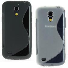 Housse etui coque gel silicone SAMSUNG GALAXY S4 Mini i9505 +Film