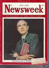 Newsweek Magazine W. Averell Harriman May 3, 1948