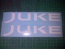 2 Nissan Juke 180mm Decals Sticker JDM Drift Motorsport Nismo