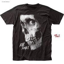 Evil Dead 2 Skull T-Shirt / Bruce Campbell,Ash,Evil Dead 2 Movie Poster