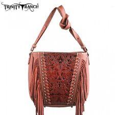 Handtasche Westerntasche Trinity Ranch mit Fransen in 3 Farben