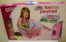 #1921 Zip Bin Fairy Castle Toy Box Playmate w/Kelly Sized Doll in Light Pink