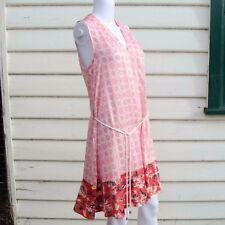Peter Som (For Design Nation) Halter Dress in Pink Sleeveless Medium, Large